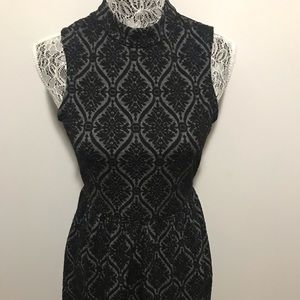 Maurices black and gray dress